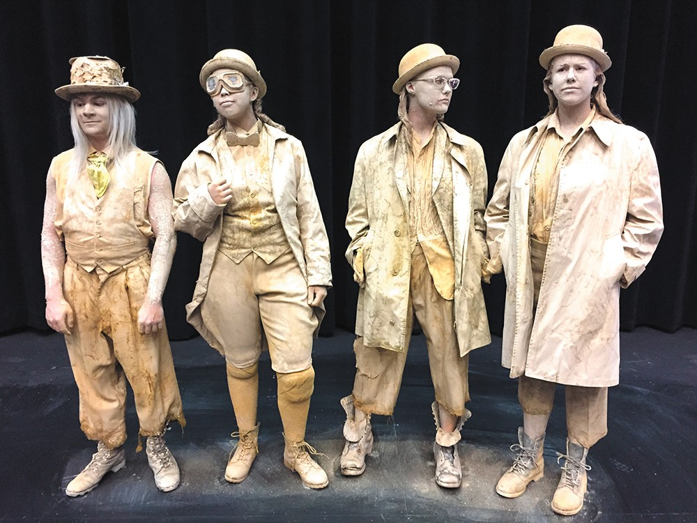 Catch a final performance of Waiting for Godot on Sept. 10. - GONZAGA UNIVERSITY PHOTO