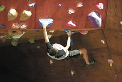 Test yourself this summer at the Bloc Yard Bouldering Gym. - YOUNG KWAK