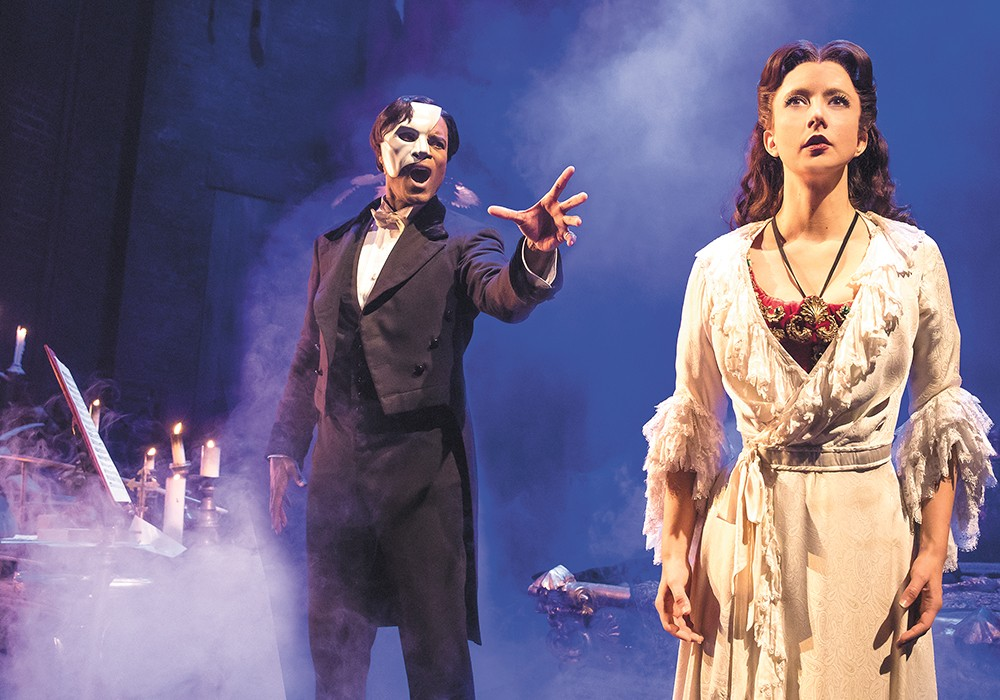Don't miss The Phantom of the Opera, June 28-July 9. - MATTHEW MURPHY
