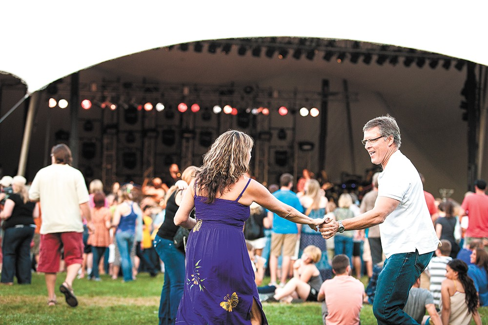 he Head and the Heart play the Festival at Sandpoint on Aug. 10.