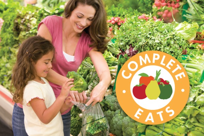 Washington's Department of Health and Safeway have teamed up on a new program, called Complete Eats, that rewards healthy food choices by offering $5 rebates on $10 qualifying purchases of fresh fruits and vegetables. - WASHINGTON STATE DEPARTMENT OF HEALTH
