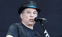 Paul Simon: Plays the Arena tomorrow night.