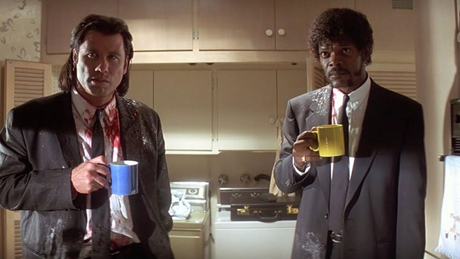 Pulp Fiction is back on the big screen this week at the Garland Theater.