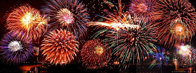 This Fourth of July, be smart and leave the fireworks to the professionals in order to avoid serious injuries.