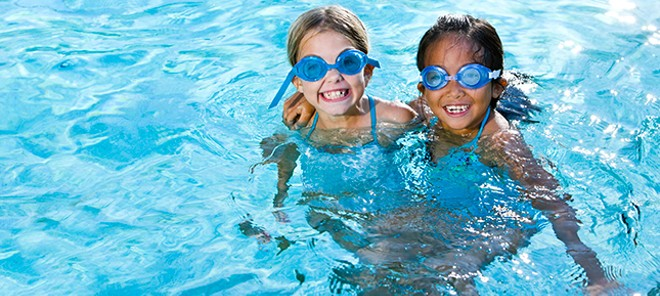 Play it safe this summer: Keep an eye on your kids when it comes to kiddie pools, big pools, lakes — even bathtubs. - SWIMMINGPOOL.COM