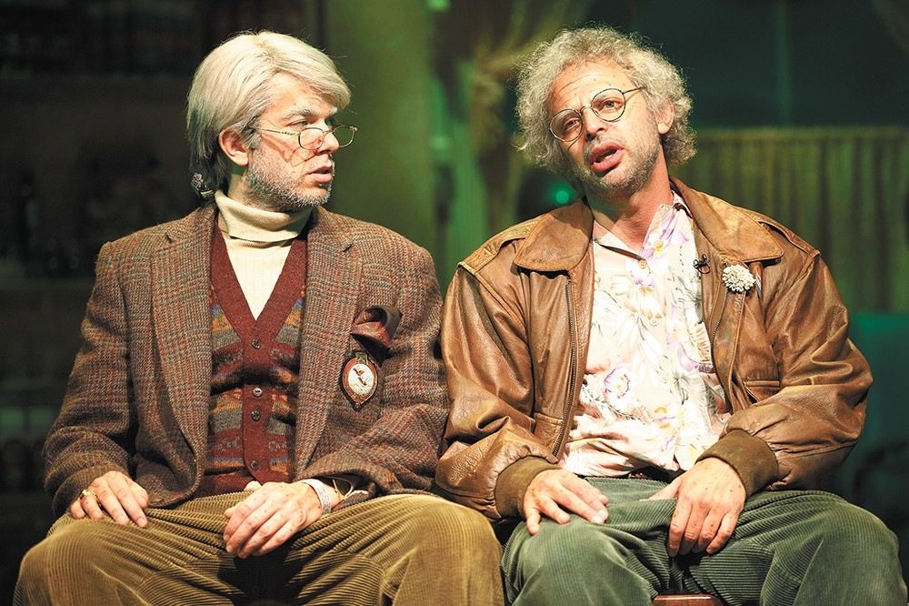 John Mulaney (left) and Nick Kroll in Oh, Hello