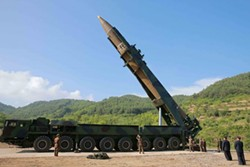 North Korea had a successful missile test on July 4.
