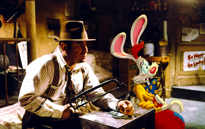 Who Framed Roger Rabbit? screens at The Bing Monday night.