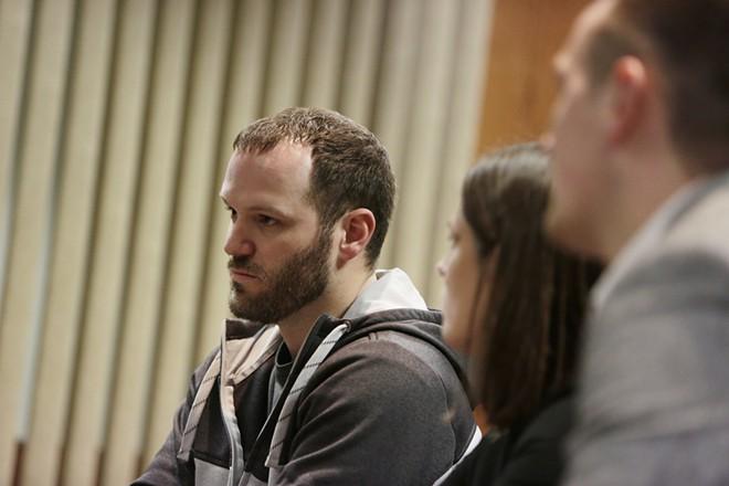Jerad Kynaston of Spokane Valley faces a mandatory life sentence if convicted of illegally growing marijuana. - YOUNG KWAK PHOTO
