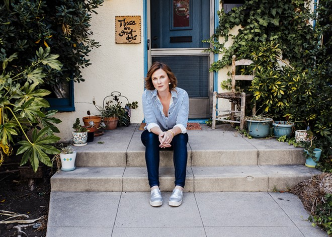 Katierose Donohue, who graduated from Harvard's graduate theater program 12 years ago but still pays as much for her student loans as she does for rent, in Los Angeles, July 27, 2017. Despite being at the world's wealthiest university, the acting institute's students receive modest financial aid and leave with a median of $78,000 in debt in exchange for a master of liberal arts degree from the Harvard Extension School. - BRIAN GUIDO/THE NEW YORK TIMES
