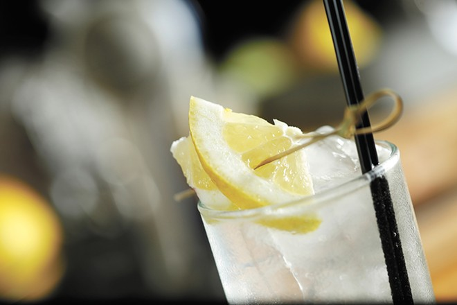 A Tom Collins at Ruins is, essentially, a slightly watered-down version of a French 75. - YOUNG KWAK