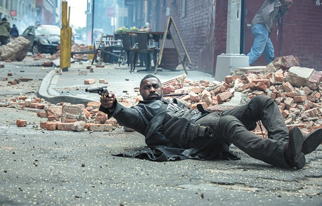 The Dark Tower has lots of ammunition but doesn't hit any of its targets.
