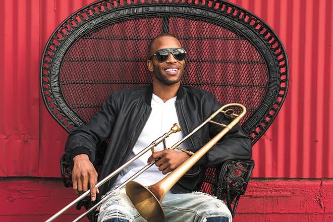 Troy Andrews, aka Trombone Shorty, brings a bit of the Big Easy to Spokane on Sunday night.