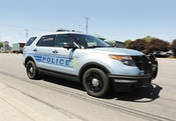 The Spokane Valley Police Department is operated by the county Sheriff's Office. - YOUNG KWAK PHOTO