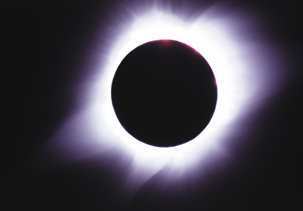 """Here on Earth, we're the only planet in the solar system that experiences this sort of eclipse,"" says University of Idaho physics professor Matt Hedman."