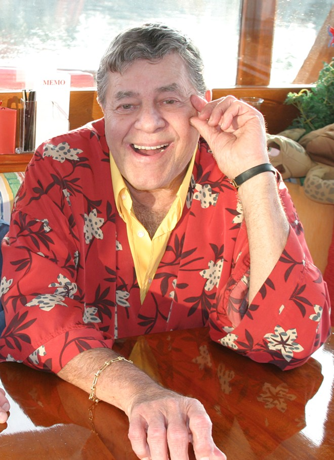 Jerry Lewis was born on March 16, 1926, in Newark, New Jersey. - PATTY MOONEY, CRYSTAL PYRAMID PRODUCTIONS