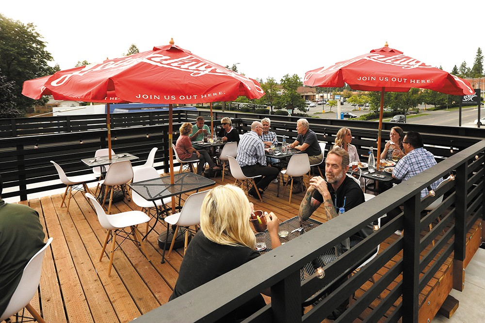 A rooftop patio is a draw for South Hill newcomer Remedy. - YOUNG KWAK