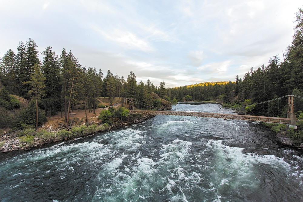 The Wild & Scenic Film Festival benefits the Spokane Riverkeeper. - MATT WIEGAND