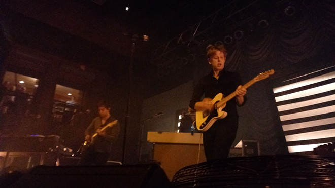 Britt Daniel (right) has led Spoon since its 1993 inception, along with drummer Jim Eno. - DAN NAILEN