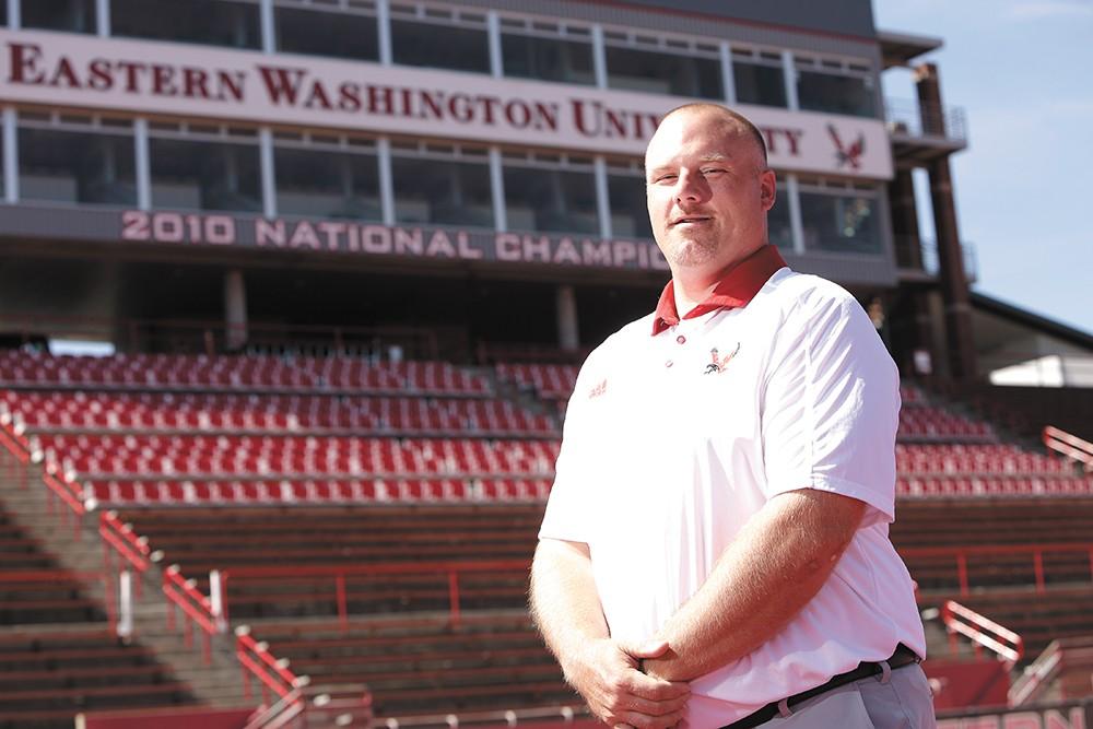 Aaron Best is Eastern Washington's 21st head coach. - YOUNG KWAK