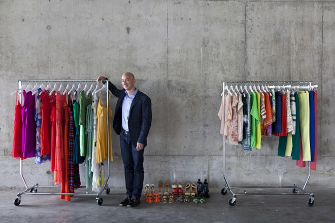 Jeff Bezos, the founder and chief executive of Amazon, in Seattle, April 26, 2012. Amazon's new Prime Wardrobe program, announced on June 20, 2017 and available only to members of the Amazon Prime membership service, will allow people to order clothing and only be charged for items that are not returned in the resealable shipping box. - MATTHEW RYAN WILLIAMS/THE NEW YORK TIMES