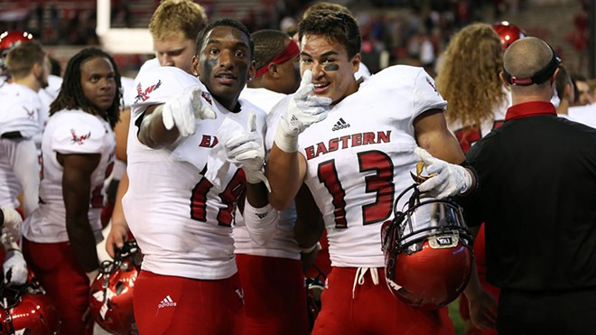 The Eagles should compete for the Big Sky title again in 2017. - EWU ATHLETICS