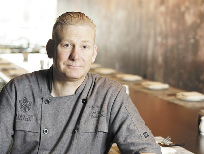 Chef Ian Wingate leaves big shoes to fill. - YOUNG KWAK