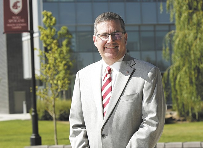 WSU President Kirk Schulz says that the university would participate if state Attorney General Bob Ferguson sues the administration over DACA. - YOUNG KWAK