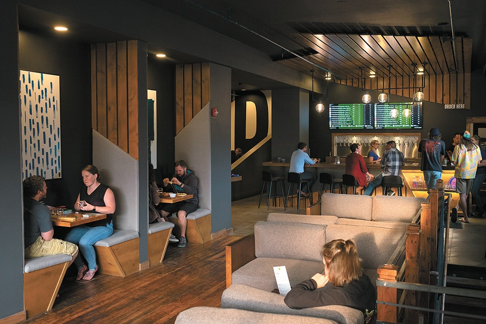 One Tree's new downtown spot features a sleek and cozy design. - HECTOR AIZON