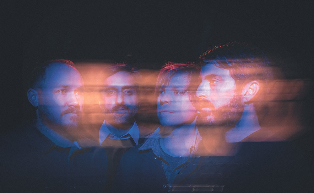 The Texas-based instrumental quartet Explosions in the Sky prove you don't need lyrics to tell a musical story.