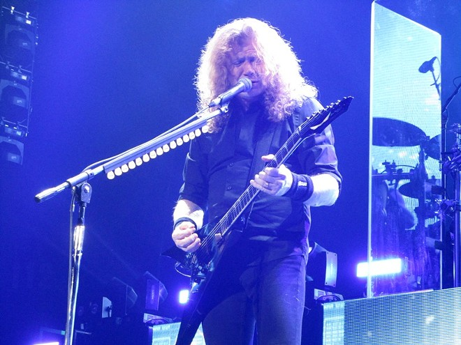 Dave Mustaine of Megadeth - DAN NAILEN