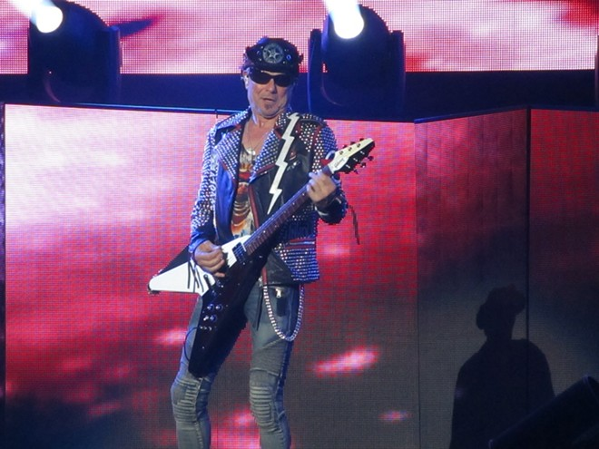 Rudolf Schenker founded the Scorpions in 1965, and he's the only band member who's been there since the beginning. - DAN NAILEN
