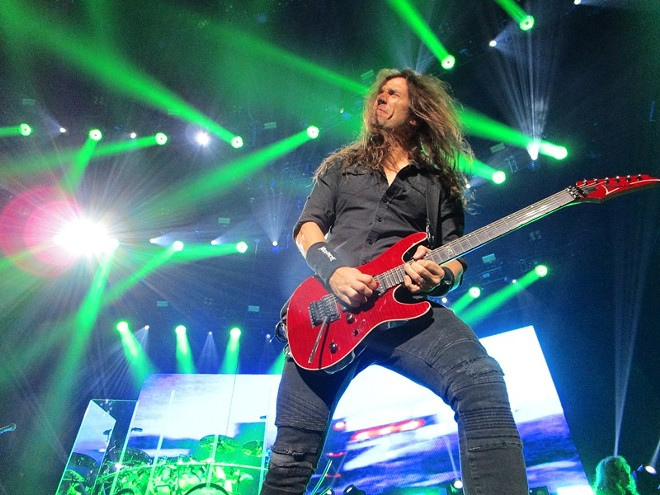 Megadeth's Kiko Loureiro - DAN NAILEN