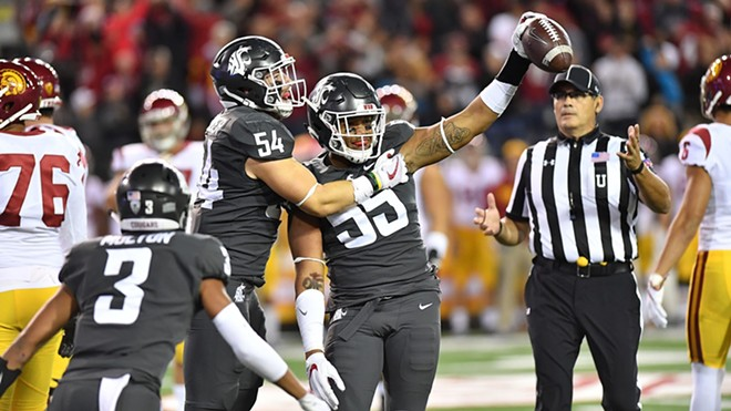 After Friday night's nationally televised win against USC, the Cougars are ranked No. 11 in the latest AP poll. - WSU ATHLETICS