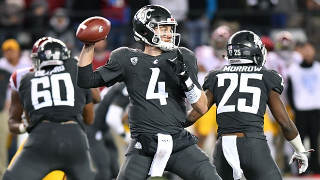 Luke Falk — coming off a 34-of-51, 340-yard, two-touchdown performance against USC — and the undefeated, 11th-ranked Cougars hit the road for the first time in 2017, traveling to Eugene to face the 4-1 Ducks at Autzen Stadium. - WSU ATHLETICS