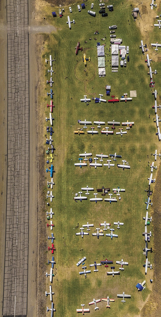 The Wings Over Republic Fly-in is an annual event at the Curlew Lake Airport. - JESSE HARDING PHOTO