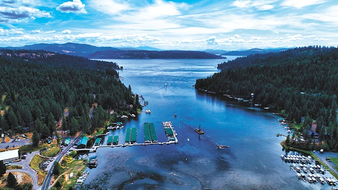 "Rockford Bay on Lake Coeur d'Alene. ""It is a trip we make almost every summer since I was about 6 years old,"" Brian Montgomery says. ""This lake is very special to us and holds so many memories."" - BRIAN MONTGOMERY PHOTO"