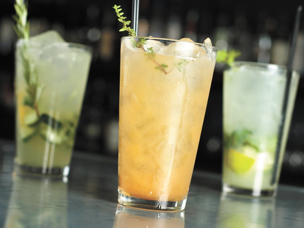Clover's housemade syrups and fruit or herb infusions are used to make custom soda blends. - YOUNG KWAK
