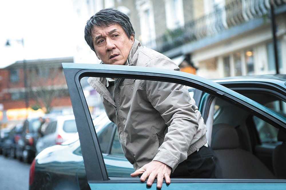 Rumble in the Bronx, this ain't: Martial arts legend Jackie Chan tries his hand at dark drama in The Foreigner.