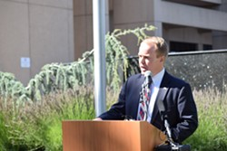 """Spokane County Commissioner Josh Kerns: """"""""We wouldn't want to disqualify a good candidate because of something that happened back in their past."""" - WILSON CRISCIONE PHOTO"""