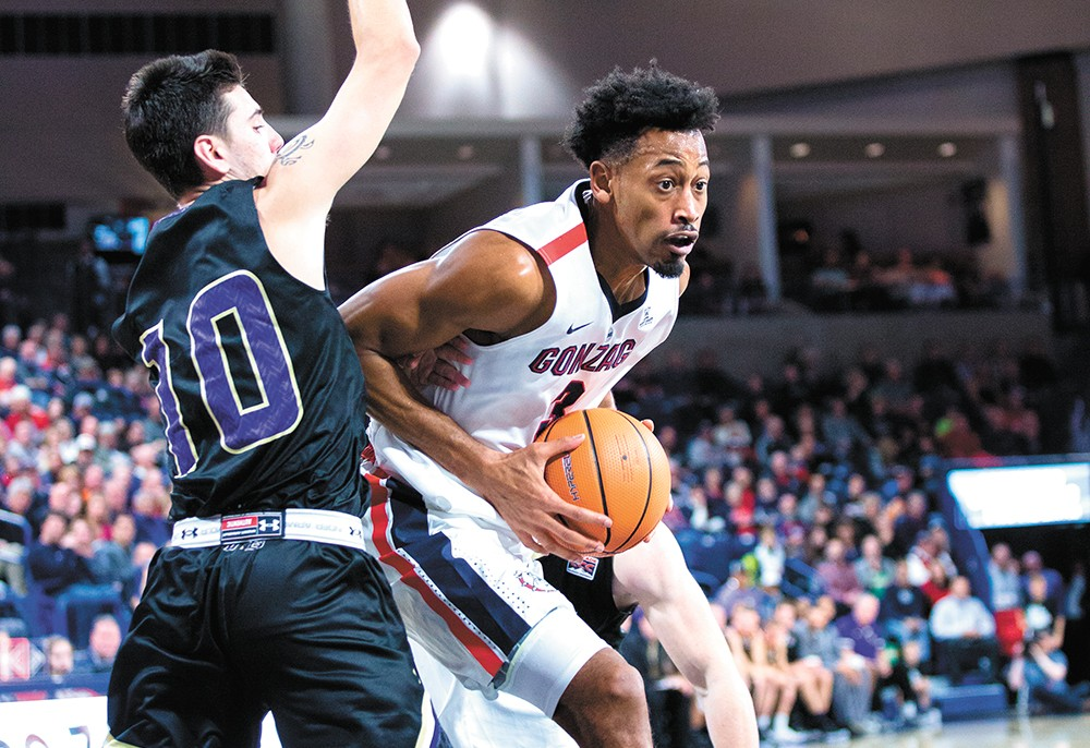 Senior Johnathan Williams is one returning player Gonzaga will rely on. - LIBBY KAMROWSKI