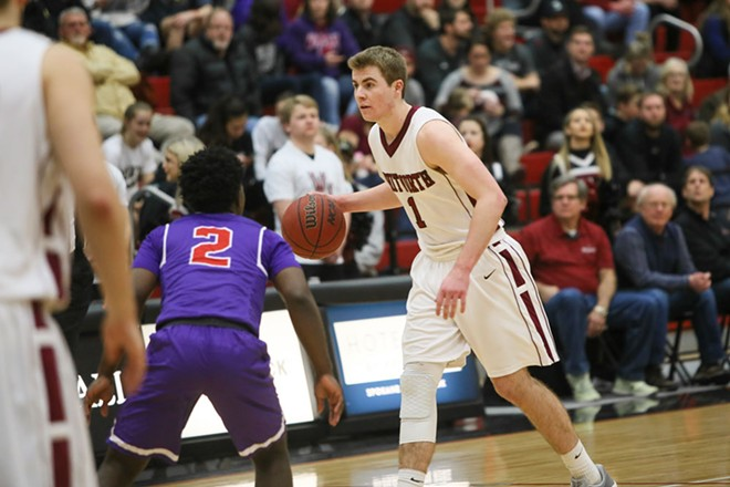 Junior guard Kyle Roach is the Pirates only returning starter. - WHITWORTH ATHLETICS