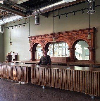 An interior sneak peek of the Spokane tasting room, opening to the public on Saturday, Nov. 18. - FACEBOOK: MARYHILL WINERY