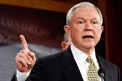 Attorney General Jeff Sessions: Selective memory in House testimony.