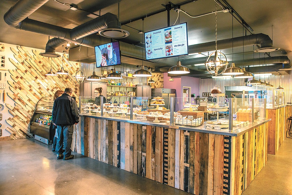 Customers can get an inside look into Lilac City Bakery's process. - ERICK DOXEY