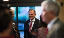 Roy Moore angrily denied multiple allegation of sexual misconduct.