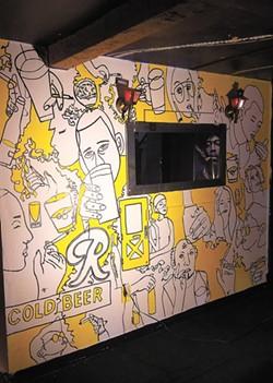 Ruben Villarreal's new work at Mootsy's