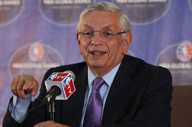 Former NBA commissioner David Stern has some relatively progressive thoughts on medical marijuana for the league. - NBA.COM