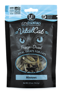 Pro tip: Don't sniff the bag when you treat your kitty to these.