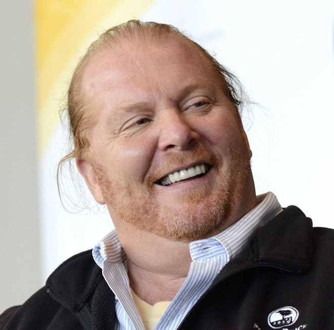 "Mario Batali: ""I apologize to the people I have mistreated and hurt."" - LANCE CHEUNG"